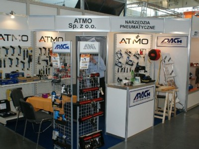 Company stand ATMO Sp. z o.o. on trade show DREMA 2011