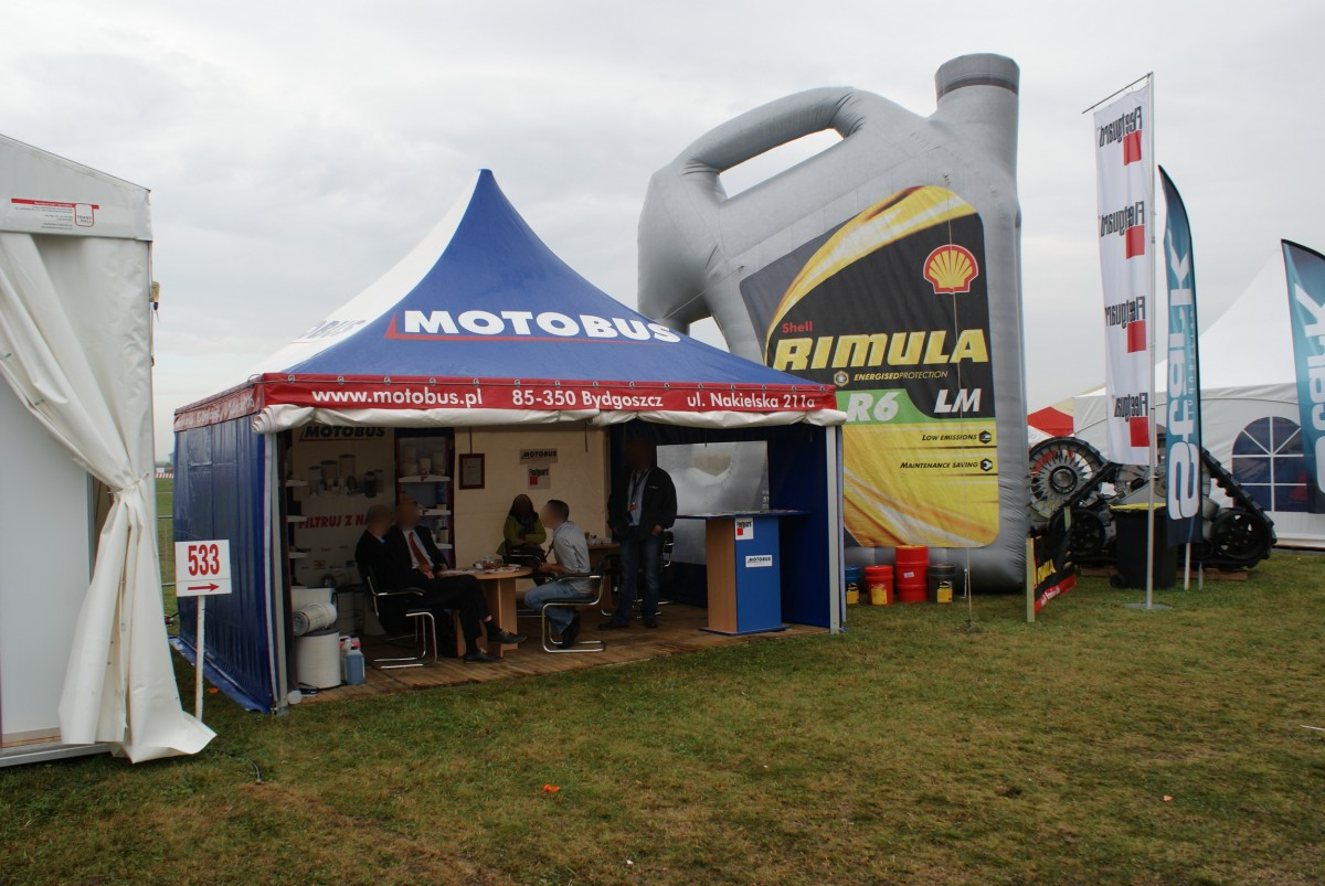 Company stand MOTO-BUS Wątroba, Andrearczyk Sp.J. on trade show AGROSHOW 2014