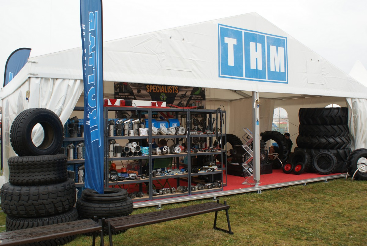 Company stand TECHMOT Sp. z o.o. on trade show AGROSHOW 2014