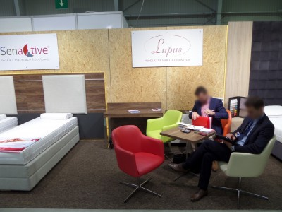Company stand LUPUS Sp.j. on trade show WORLDHOTEL 2014