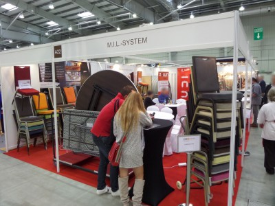 Company stand MIL-SYSTEM on trade show WORLDHOTEL 2014