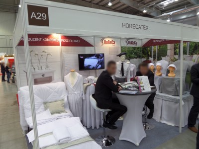 Company stand HORECATEX on trade show WORLDHOTEL 2014