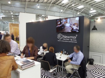 Company stand NEWMOR POLSKA Sp. z o.o. on trade show WORLDHOTEL 2014