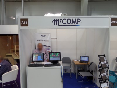 Company stand MC COMP SA on trade show WORLDHOTEL 2014
