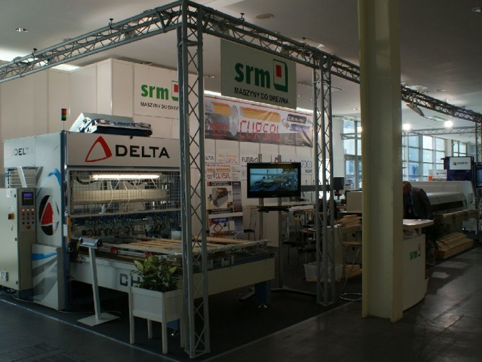 Company stand DELTA S.r.l. on trade show DREMA 2011
