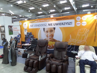 Company stand Pro-Wellness on trade show WORLDHOTEL 2014
