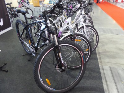Company stand SPECTEC TRADING Sp. z o.o. on trade show KIELCE BIKE-EXPO 2014