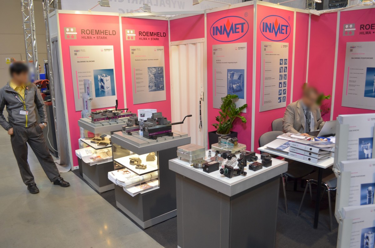 Company stand INMET - BTH on trade show TOOLEX & WIRTOTECHNOLOGIA & LASEREXPO 2014