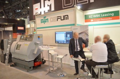 Company stand SIEMENS Sp. z o.o on trade show TOOLEX & WIRTOTECHNOLOGIA & LASEREXPO 2014