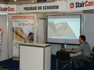 Company stand STAIRCON - Multi Grip on trade show DREMA 2011