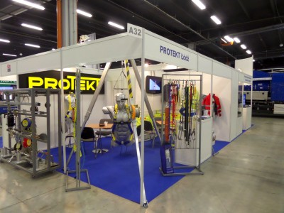 Company stand PROTEKT on trade show TIWS 2014