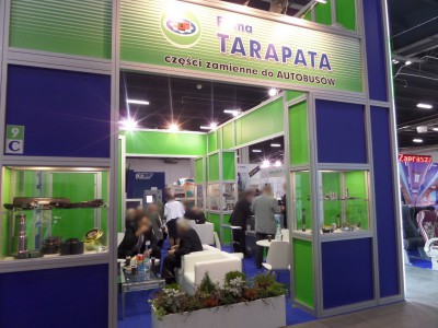 Company stand Z.P.H. JAN TARAPATA on trade show TRANSEXPO 2014