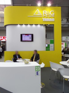 Company stand PZI TARAN Sp. z o.o. on trade show TRANSEXPO 2014