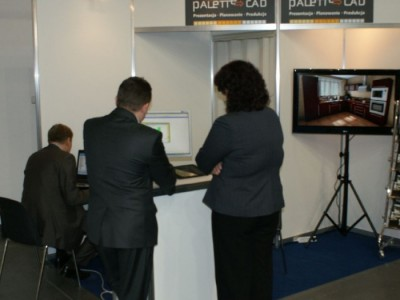 Company stand Palette CAD on trade show DREMA 2011