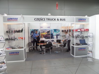 Company stand LONTEX Sp. z o.o. on trade show TRANSEXPO 2014