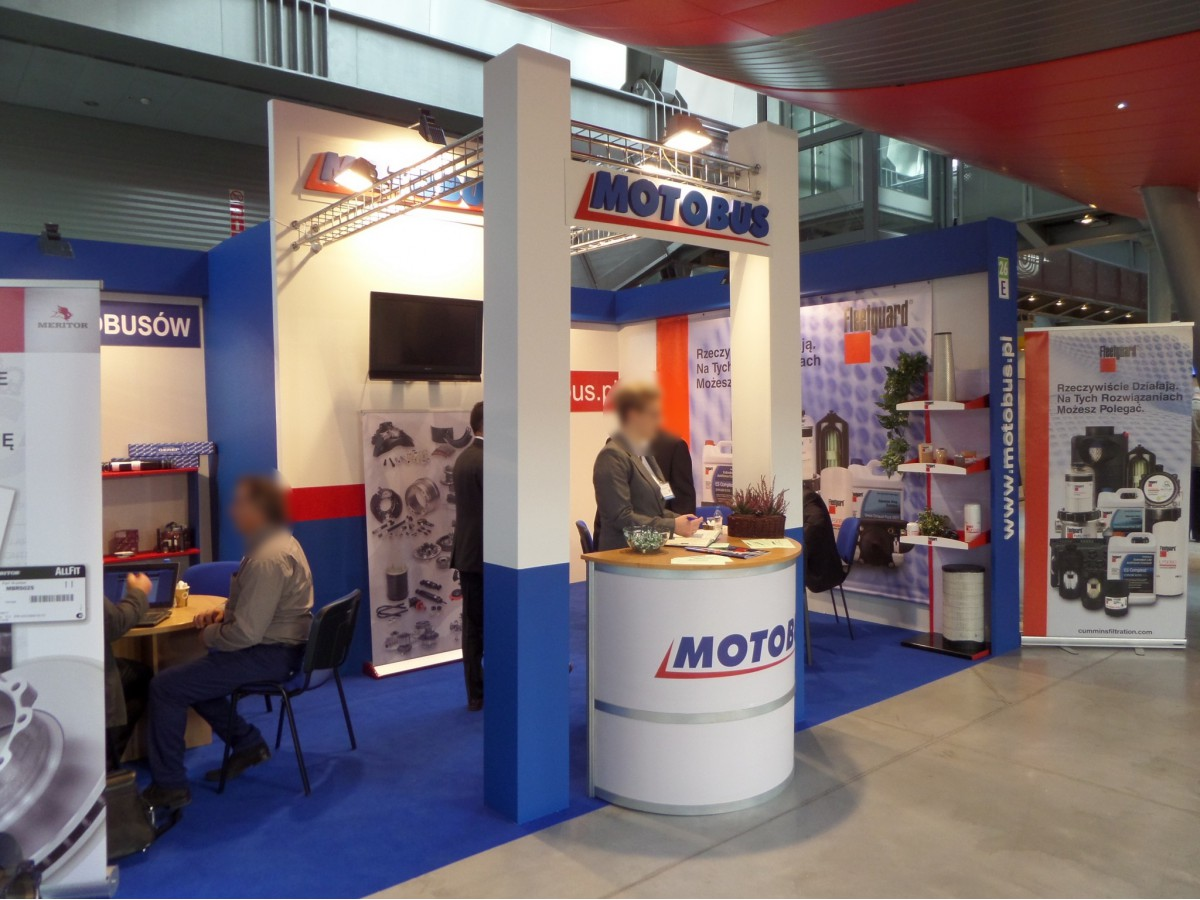 Company stand MOTO-BUS Wątroba, Andrearczyk Sp.J. on trade show TRANSEXPO 2014