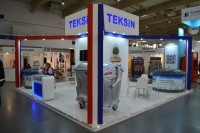 TEKSIN Konteyner ve Galvaniz San. Tic. Ltd Sti. on trade show POLEKO 2014
