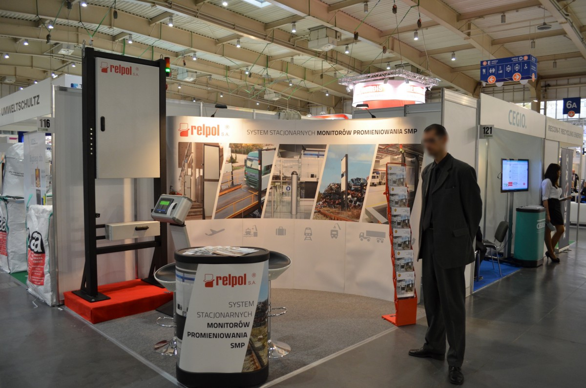 Company stand RELPOL S.A. on trade show POLEKO 2014