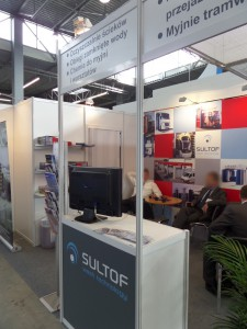Company stand SULTOF Sp. z o.o. on trade show TRANSEXPO 2014
