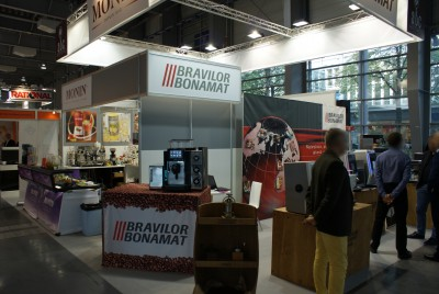 Company stand Bravilor Polska Sp. z o.o. on trade show POLAGRA GASTRO 2014