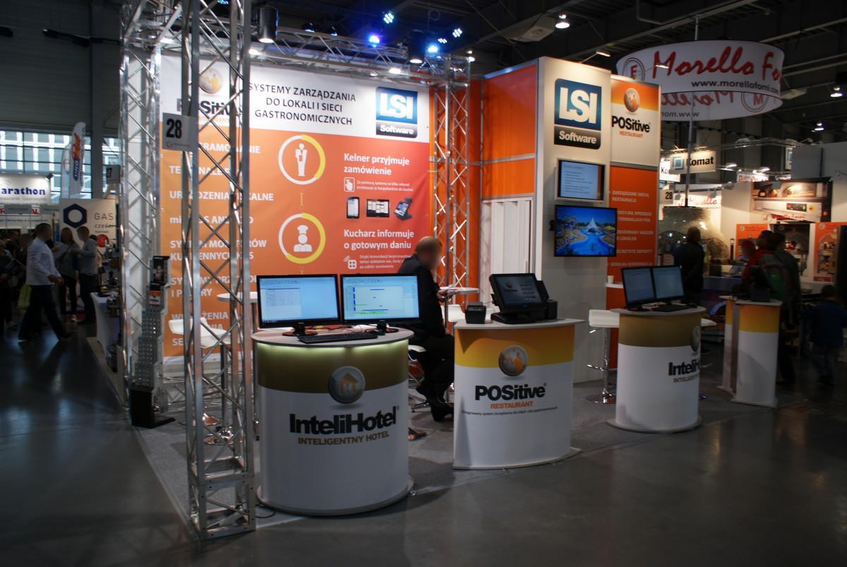 Company stand LSI SOFTWARE SA on trade show POLAGRA GASTRO 2014