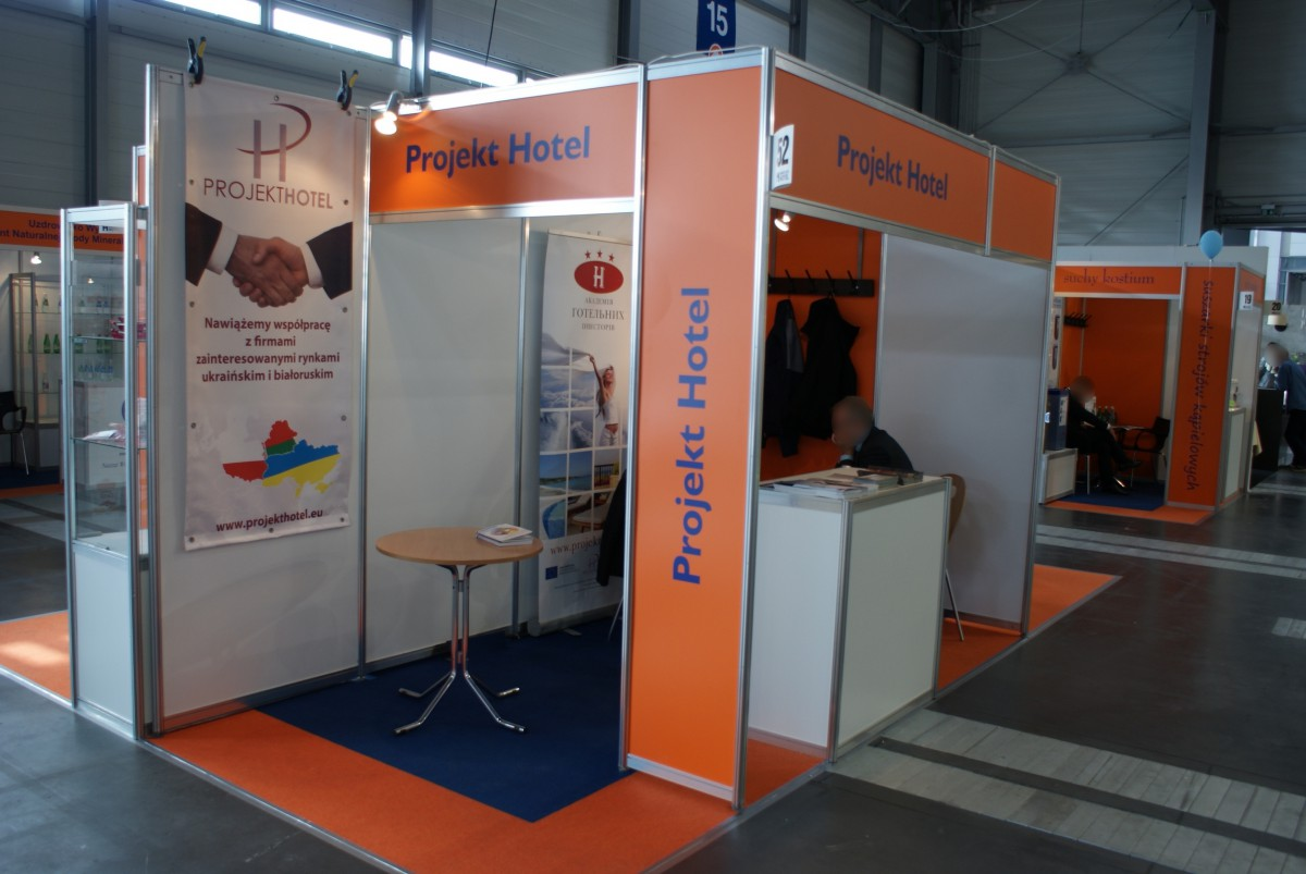Company stand Projekt Hotel Sp. z o.o. on trade show INVEST - HOTEL 2014
