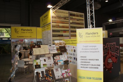 Stoisko firmy Flanders Investment & Trade na targach POLAGRA - FOOD 2014