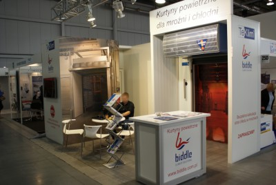 Company stand Biddle bv on trade show POLAGRA-TECH 2014