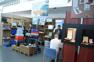 Company stand Mares Packaging Co. on trade show TAROPAK 2014
