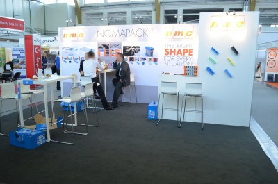 Company stand nmc Polska Sp. z o.o. on trade show TAROPAK 2014