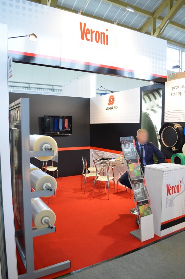 Company stand VERONI - PAK on trade show TAROPAK 2014