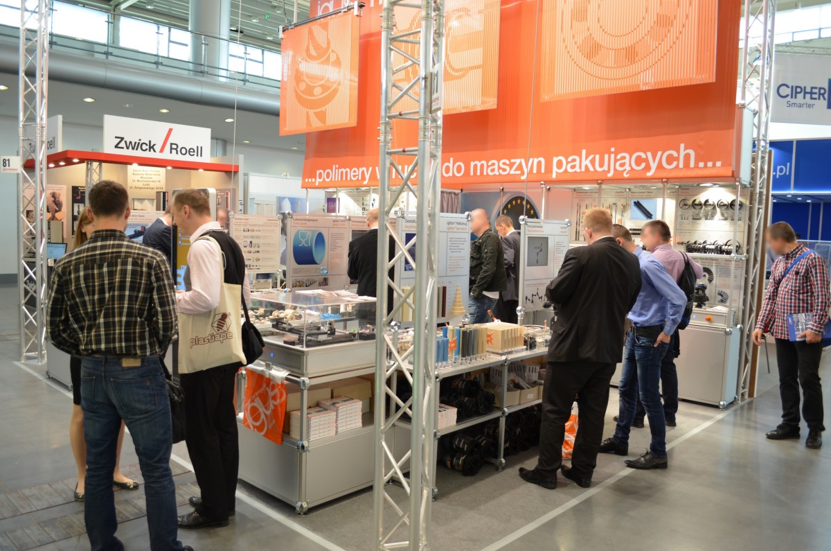 Company stand IGUS Sp. z o.o. on trade show TAROPAK 2014