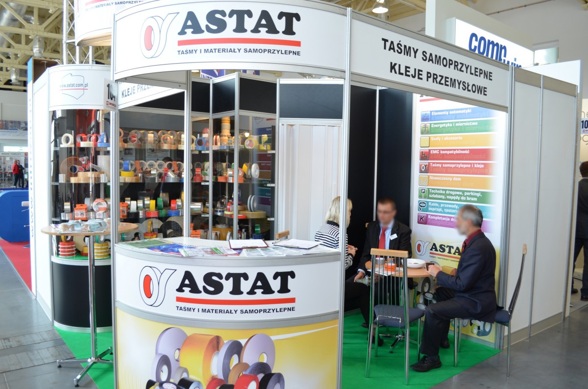 Company stand ASTAT Sp. z o.o. on trade show TAROPAK 2014