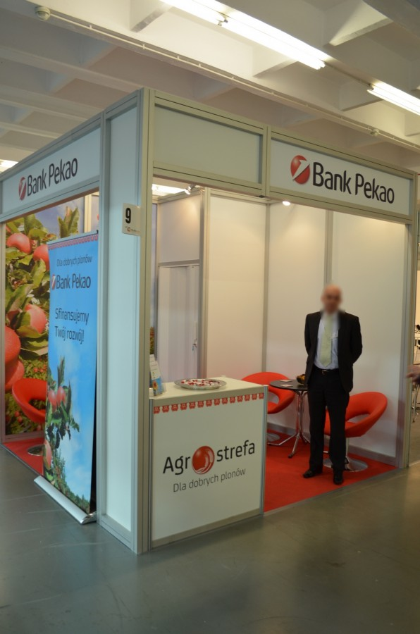Company stand Bank Pekao SA on trade show POLAGRA - FOOD 2014