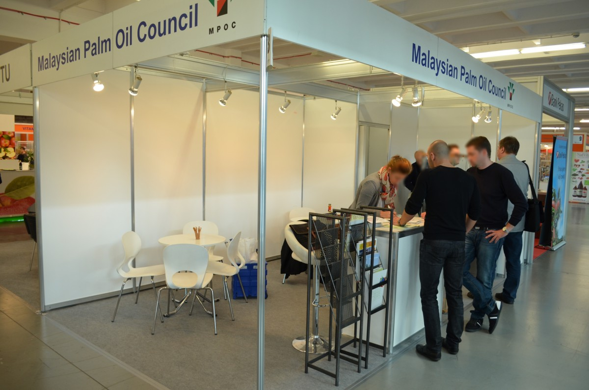 Company stand MALAYSIAN PALM OIL COUNCIL on trade show POLAGRA - FOOD 2014