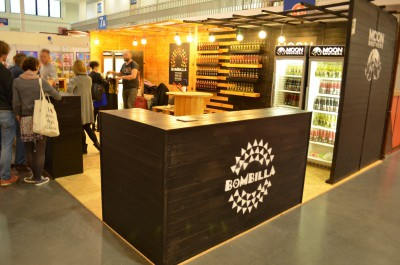 Company stand Drink2me Sp z .o. o. / Bombilla Drink on trade show POLAGRA - FOOD 2014