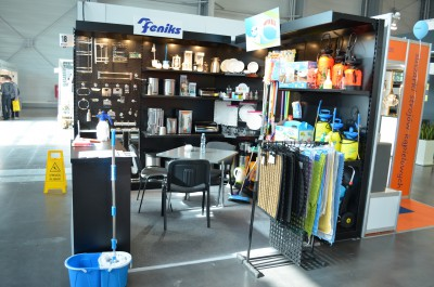 Company stand FENIKS Sp.j. on trade show INVEST - HOTEL 2014