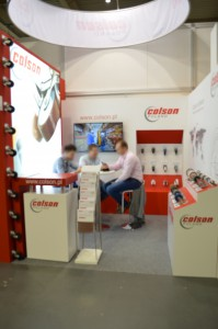 Company stand Colson Europe B.V. Sp. z.o.o. on trade show POLAGRA-TECH 2014