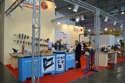 Company stand BizeA Sp. z o.o. on trade show TAROPAK 2014