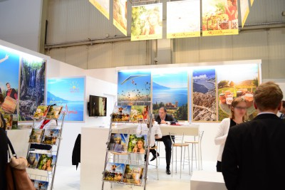 Company stand Agency For Promotion And Support Of Tourism in R. Macedonia on trade show TOUR SALON 2014