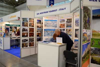 Company stand SOL NOSTRUM TOURIST s.r.l. on trade show TOUR SALON 2014