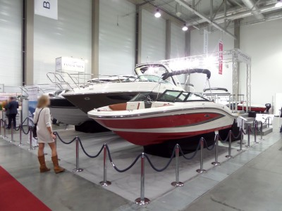 Company stand Power Boats Poland Sp. z o.o. on trade show BOATSHOW 2014
