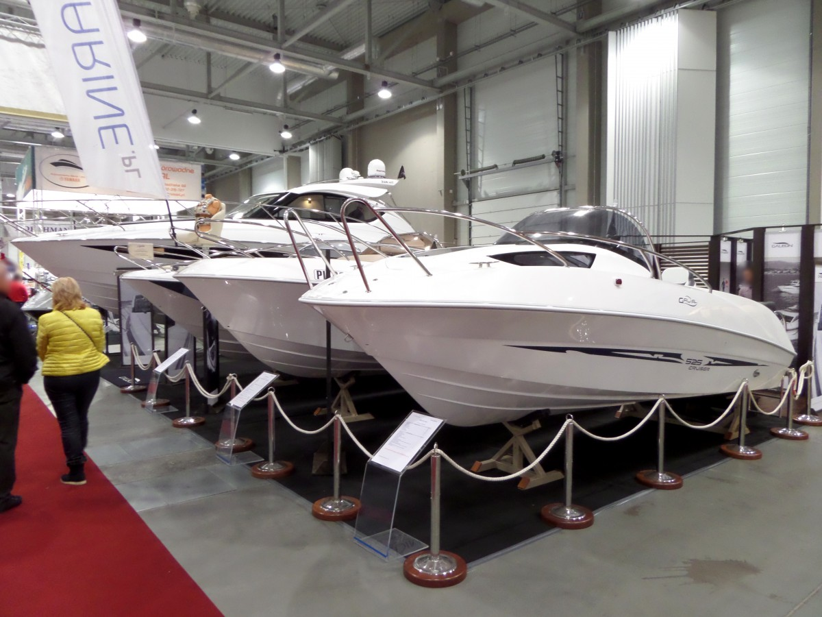 Company stand Galeon on trade show BOATSHOW 2014