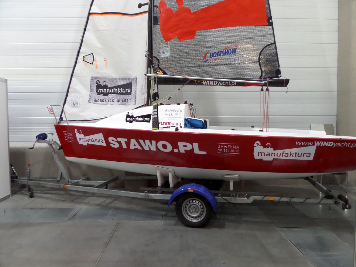 Company stand WIND YACHT on trade show BOATSHOW 2014