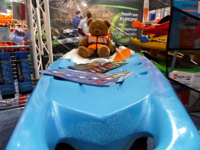 Company stand Feelfree US LLC on trade show BOATSHOW 2014