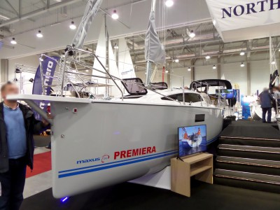 Company stand NORTHMAN on trade show BOATSHOW 2014