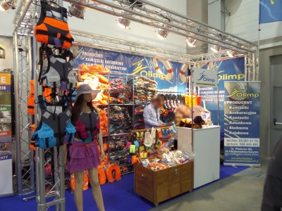 Company stand Olimp on trade show BOATSHOW 2014