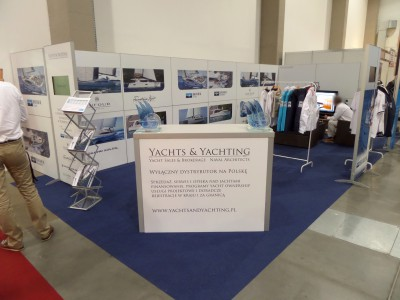 Company stand YACHTS and YACHTING Sp.z o.o. on trade show BOATSHOW 2014
