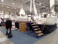 ANTILA JACHT Stocznia Jachtowa Cezary Duchnik on trade show BOATSHOW 2014