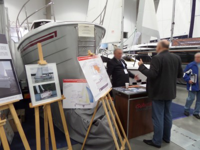 Company stand NEXO YACHTS on trade show BOATSHOW 2014